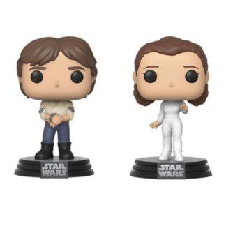 Star Wars Funko Pop 2-pack Han Leila Empire Strikes Back