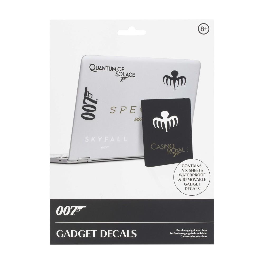James Bond - 007 Gadget Decals