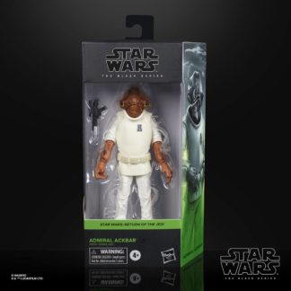 Admiral Ackbar Episode VI Star Wars black series action figure Hasbro