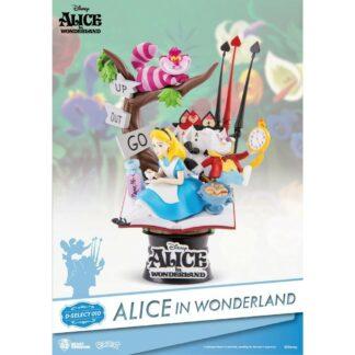 Alice in Wonderland D-stage PVC Diorama movies Disney