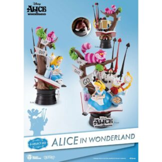 Alice in Wonderland D-stage PVC Diorama movies Disney