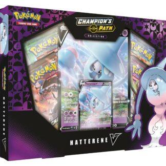 Pokémon Champion's Path Hatterene Vbox Nintendo