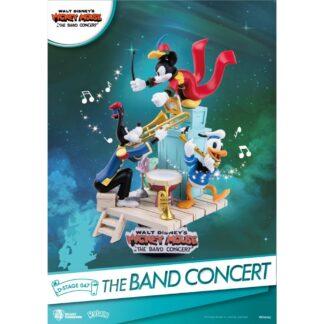 Disney D-stage PVC Diorama Band Concert