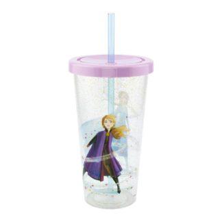 Frozen Cup Straw Logo movies Disney