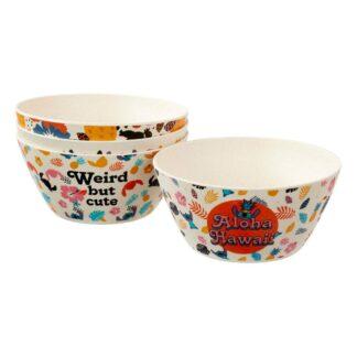 Lilo Stitch bowl 4-pack Aloha Hawaii movies Funko