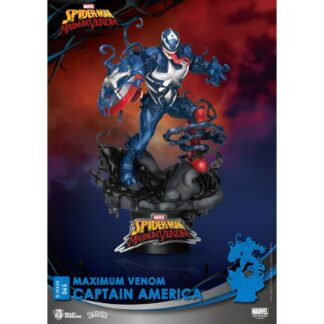 Marvel Comics D-stage PVC diorama Maximum Venom Captain America Beast Kingdom