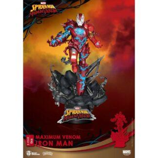 Marvel Comics D-stage PVC diorama Maximum Venom Captain America Beast Kindom