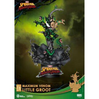 D-stage PVC diorama Maximum Venom Little Groot Beast Kingdom Groot