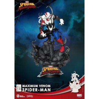 Spider-Man D-stage PVC Diorama Maximum Venom