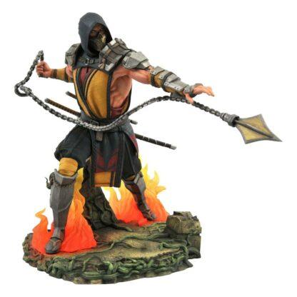 Mortal Kombat Gallery pvc statue Scorpion Diamond Select Toys