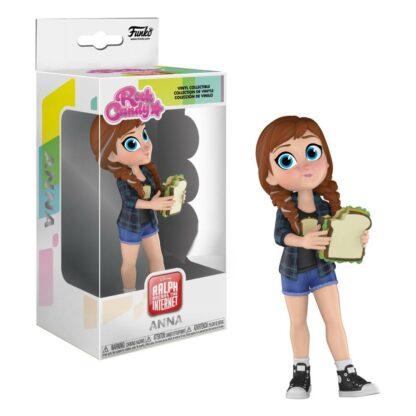 Ralph Breaks the internet Rock Candy Figure Princess Anna Comfy
