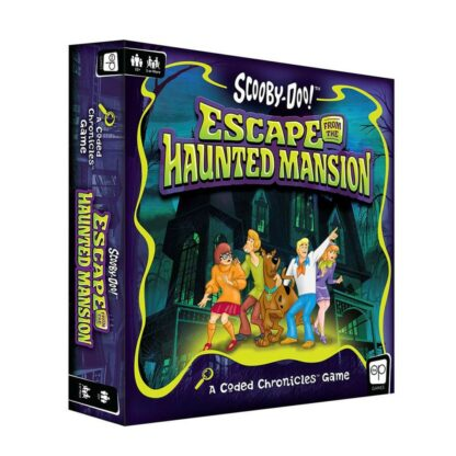 Scooby-Doo bordspel escape from the haunted mansion