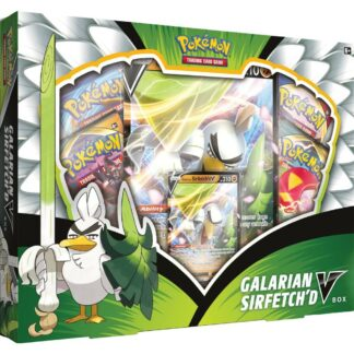 Pokémon Sirefetch V Box Nintendo Games Trading Card Company