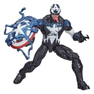 Spider-Man Maximum Venom Marvel Legends action figure Venomized Captain America