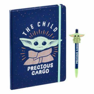 Mandalorian Notebook Pen Child Precious Cargo