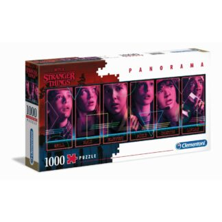 Stranger Things Panorama puzzel series Clementoni