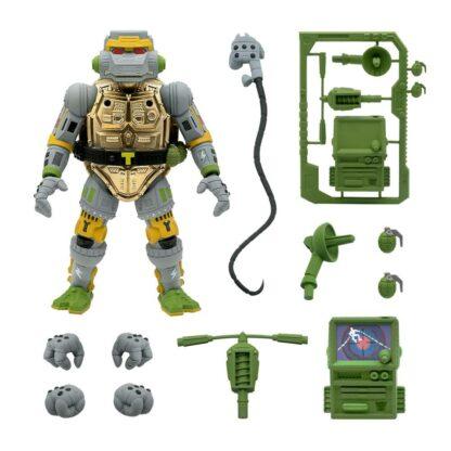 Teenage Mutant Ninja Turtles Ultimates action figure Metalhead