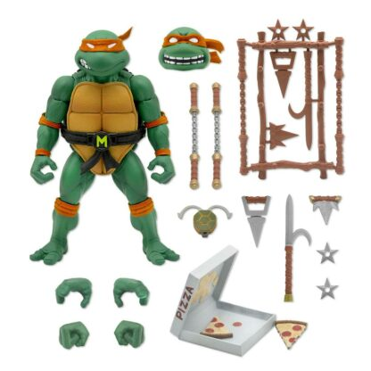 Teenage Mutant Ninja Turtles ulitmates action figure Michaelangelo Super7