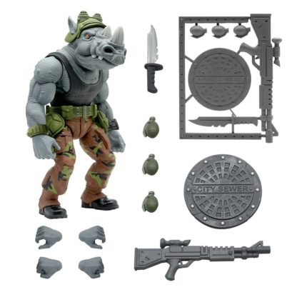 Teenage Mutant Ninja Turtles Utimates action figure Rocksteady