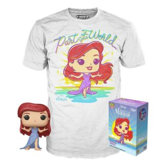 Little Mermaid Tee Box Funko Pop Ariel Exclusive Disney Funko