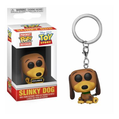 Toy Story Pocket Pop Sleutelhanger Slinky Dog