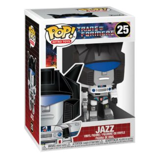 Transformers Funko pop Jazz Movies