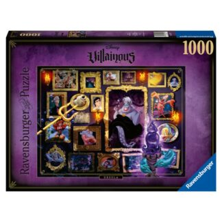 Disney villains Ravensburger puzzel Ursula Disney