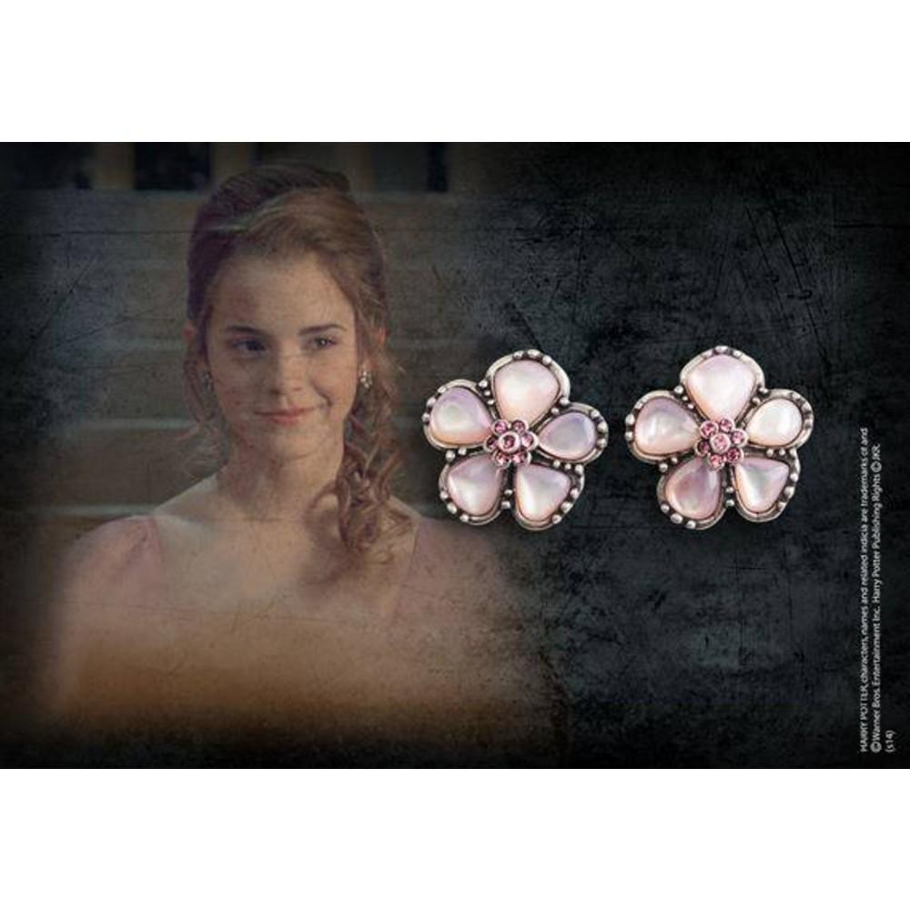 Harry Potter - Replica 1/1 Hermione Granger´s Yule Ball Earrings (silver plated)