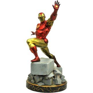 Iron Man Premier Collection classic Iron Man Statue Diamond Select