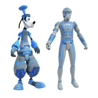 Kingdom Hearts select action figures Goofy Tron 2-pack