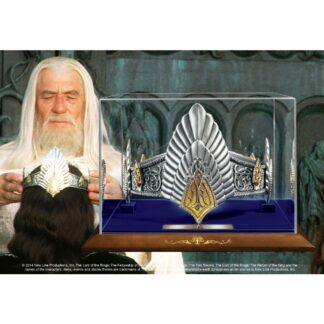 Lord of the Rings replica King Elessar crown noble collection movies