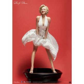Marilyn Monroe Superb scale hybrid statue