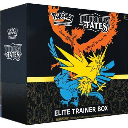 Pokémon Hidden Fates Elite Trainer Box Nintendo Pokémon