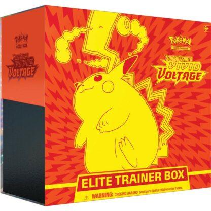 Pokémon elite trainer box vivid voltage elite trainer box