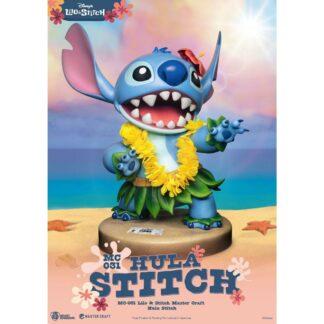 Disney Master Craft statue Hula Stitch Lilo movies Beast Kingdom