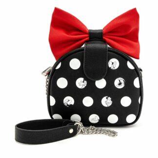 Disney Minnie Polka Big Red Bow Crossbody