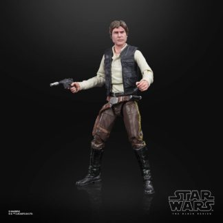 Han Solo Endor action figure black series