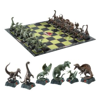 Jurassic Park Chess Set Dinosaurs movies Noble Collection
