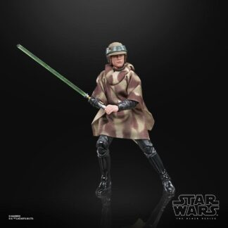 Luke Skywalker action figure movies Hasbro Black series
