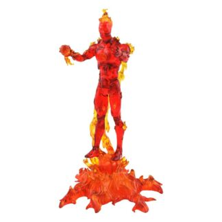 Marvel select action figure Human Torch marvel