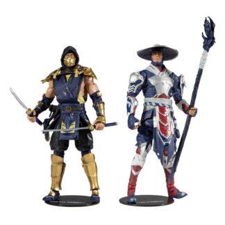 Mortal Kombat action figure 2-pack Scorpion Raiden games