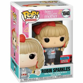 Funko Pop How I Met your mother Robin Sparkles exclusive