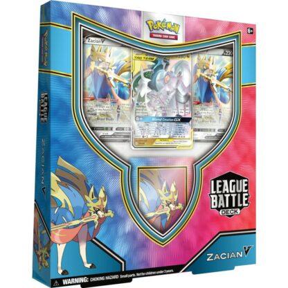 POkémon League Battle Deck Zacian