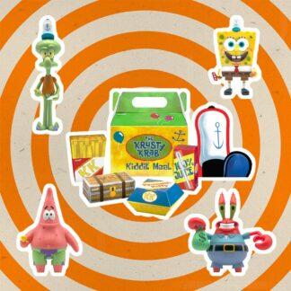 Spongebob SquarePants ReAction action figure Krusty Krab Meal NYCC