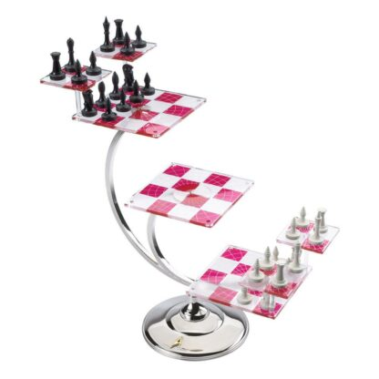 Star Trek Tri-Dimensional Chess set movies Noble Collection