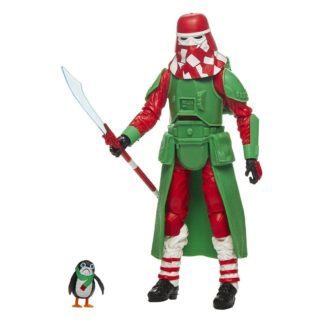 Star Wars black series action figure Snowtrooper Holiday Edition
