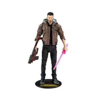 Cyberpunk 2077 Male V action figure 18 cm