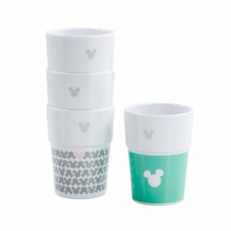 Disney stackable mugs Mickey Mouse pastel