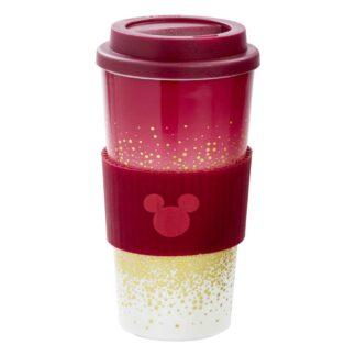 Disney Travel mug reisbeker berry glitter