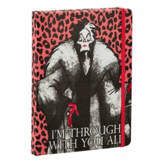 Disney Villains Notebook Cruella Vil